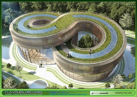 Eco Friendly Architecture Concept Ideas Flavours Orchard By Vincent Callebaut Architecture