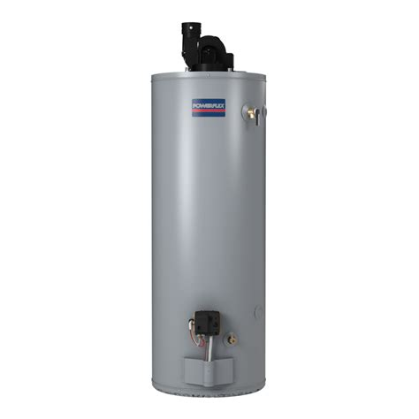 Water Heater Gas shop powerflex direct 50 gallon 6 year gas water heater at lowes