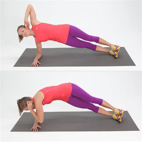 twisting side plank exercises for side abs popsugar fitness photo 4