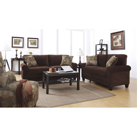 Serta Furniture by Serta Collection Cr43537 Chocolate Fabric Sofa
