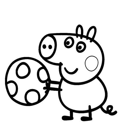 free coloring page peppa pig free coloring pages of le peppa pig