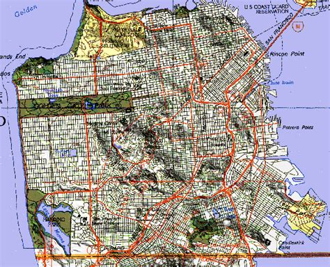 san francisco relief map hack72 add relief to your topographic maps mapping hacks