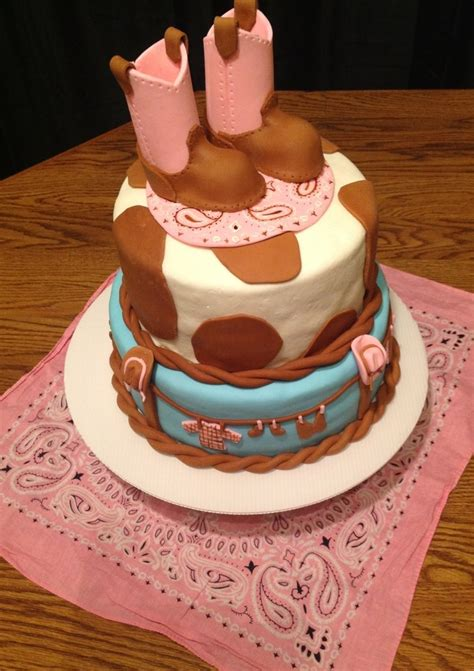 western baby shower cake baby shower cake my blessed