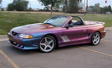 1997 mustang saleen rainbow purple 1997 saleen s281 cobra ford mustang