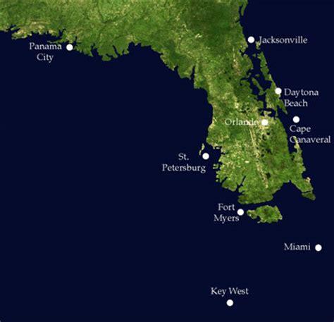 florida sea level map cavsconnect rising sea levels