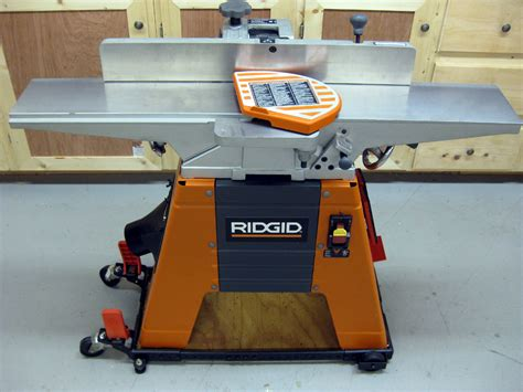 jointer reviews woodworking ridgid 6 1 8 quot jointer planer jp06101 review