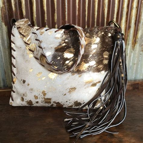 Anting Kulit Tassel Bohemian 2 the 25 best ideas about cowhide purse on western purses bohemian bag and brown
