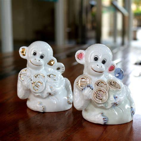 new year monkey figurines popular ceramic monkey figurines buy cheap ceramic monkey