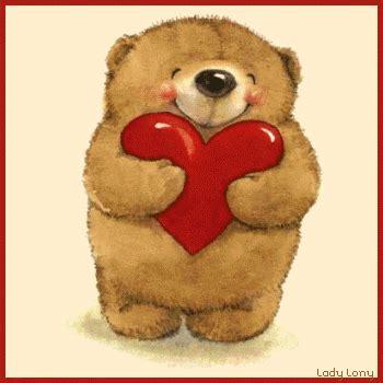 imagenes ositos tiernos de amor imagenes osos con corazones gif
