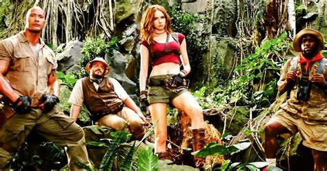 movie after jumanji dwayne johnson s jumanji release date pushed back