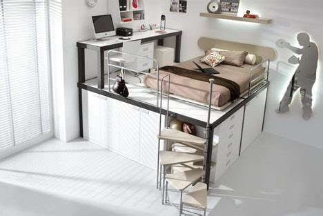 Complete Bedroom Designs Lofted Space Saving Furniture For Bedroom Interiors