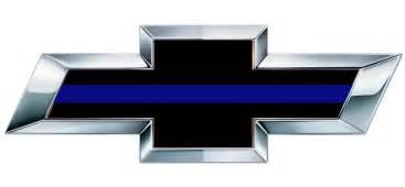 Chevrolet Decals Emblems Chevy Thin Blue Line Bowtie Decals Stickers