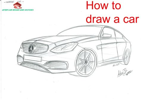 how to make sketchbook pencil sketch of mercedes cars pencil drawing of cars