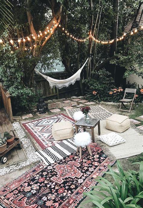 bohemian backyard best 25 outdoor rugs ideas on pinterest beach style