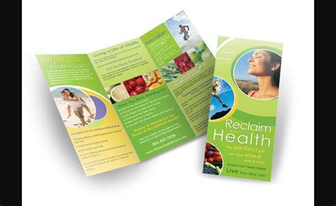 Invictus Media Portfolio Of Recent Work Health Coach Brochure Templates