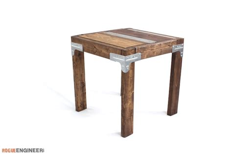 Industrial Side Tables by Diy Industrial Side Table Rogue Engineer