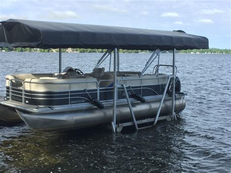 boat lift i beam pontoon boat lifts shallow water pontoon lifts r j