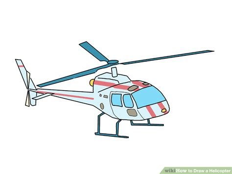doodle helicopter how to draw a helicopter with pictures wikihow