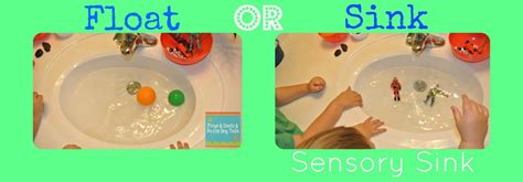 Is It Better If Your Floats Or Sinks sink or float sensory sink learning activity for the fspdt