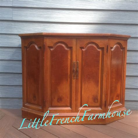 Painted Bar Cabinet Painted Server Liquor Cabinet Bar Console Buffet
