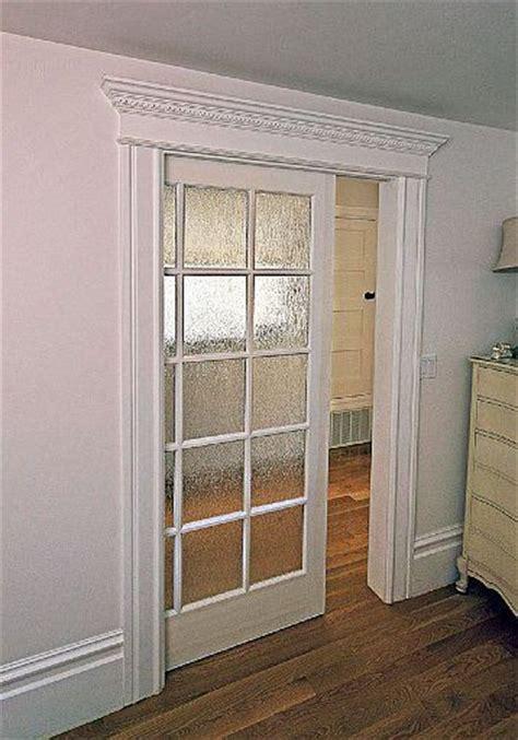 glass pocket doors glass pocket door for the home