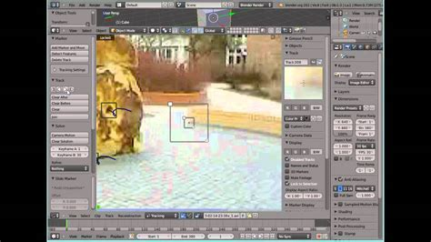 blender tutorial tracking camera blender camera tracking tutorial 3 3 komplexer track