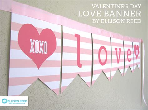 printable i love you banner freebie friday 28 free valentine s printable banners