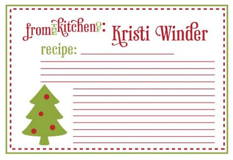 printable christmas recipe cards unavailable listing on etsy