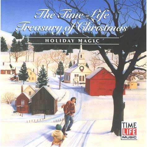 time life treasury  christmas holiday magic disc  mp buy full tracklist