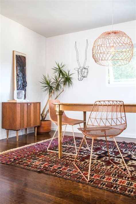 home decor chairs copper craze 43 ways to embrace this home decor trend