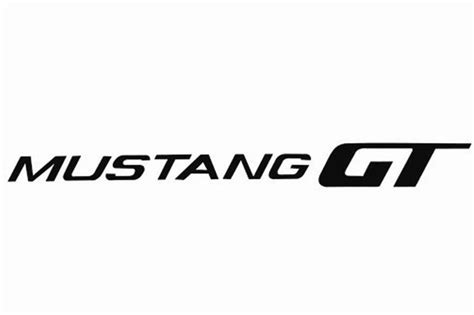 mustang stickers and decals mustang fender decklid decals