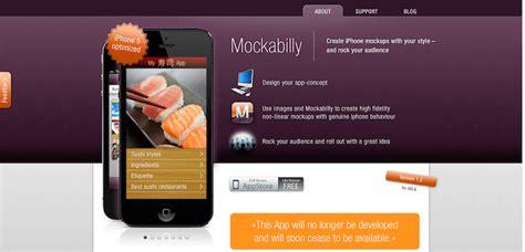 web design mockup app 25 free mockup and wireframe tools for web designers