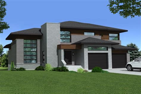 theplancollection com modern house plans contemporary house plan 158 1268 3 bedrm 2599 sq ft