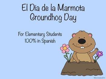 groundhog day espa ol groundhog day activity elementary students