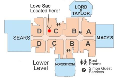layout of burlington mall lovesac brings consumers a true alternative to furniture