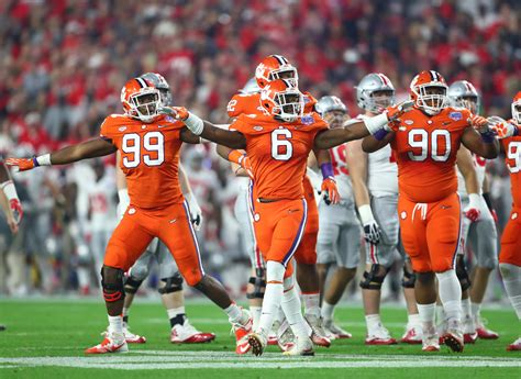 clemson football clemson is in a retooling 2017 but wow is the upside