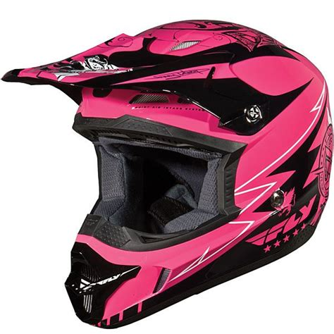 fly motocross helmets fly racing women s kinetic helmet 2010 dirt bike