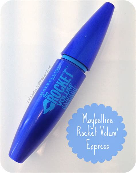 Maybelline Rocket Mascara saloca in maybelline the rocket volum express