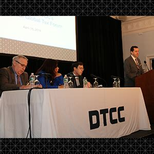 irs section 302 dtcc s global tax forum discusses industry practices for
