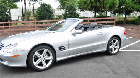 convertible mercedes 2004 2004 mercedes benz sl500 for sale youtube