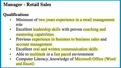 skills for retail jobs topreviewer pro
