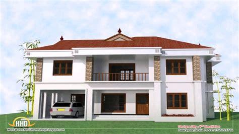 bedroom  story house floor plans  kerala youtube