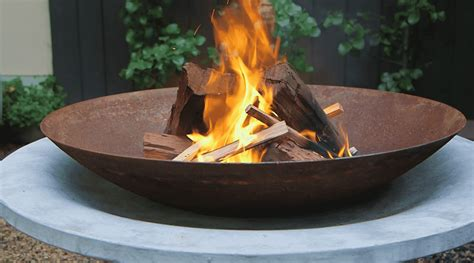 fire pit ideas melbourne international flower garden show
