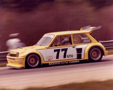 renault 5 turbo racing renault 5 turbo gtu racing imsa le car classic road