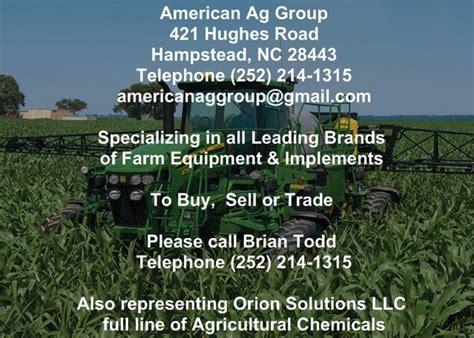 Hughes Plumbing Nc by American Ag Farming Equipment 421 Hughes Rd