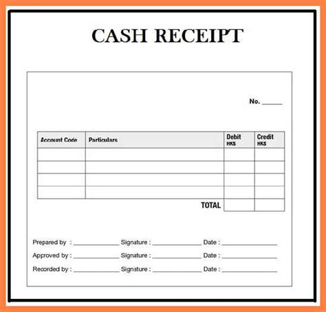 receipt template excel for 3 paper 6 receipt format in excel receipts template