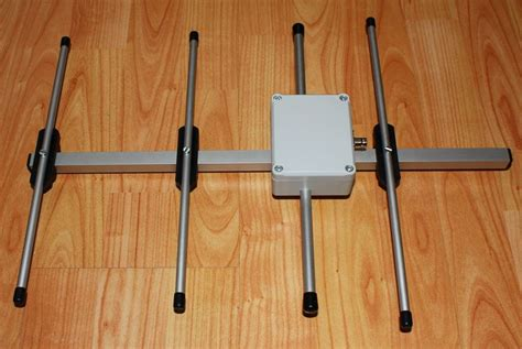 portable uhf 4 elements yagi antenna yo4hhp s
