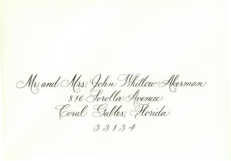 wedding outer envelopes