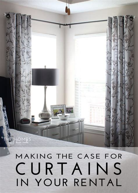 how to hang curtains around a corner 25 best ideas about corner window treatments on pinterest