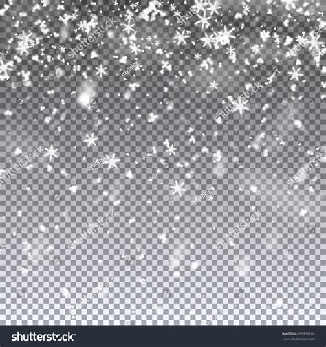 Falling Snowflakes Snow Vector Illustration On Stock Vector 695959768 Shutterstock Falling Snow After Effects Template